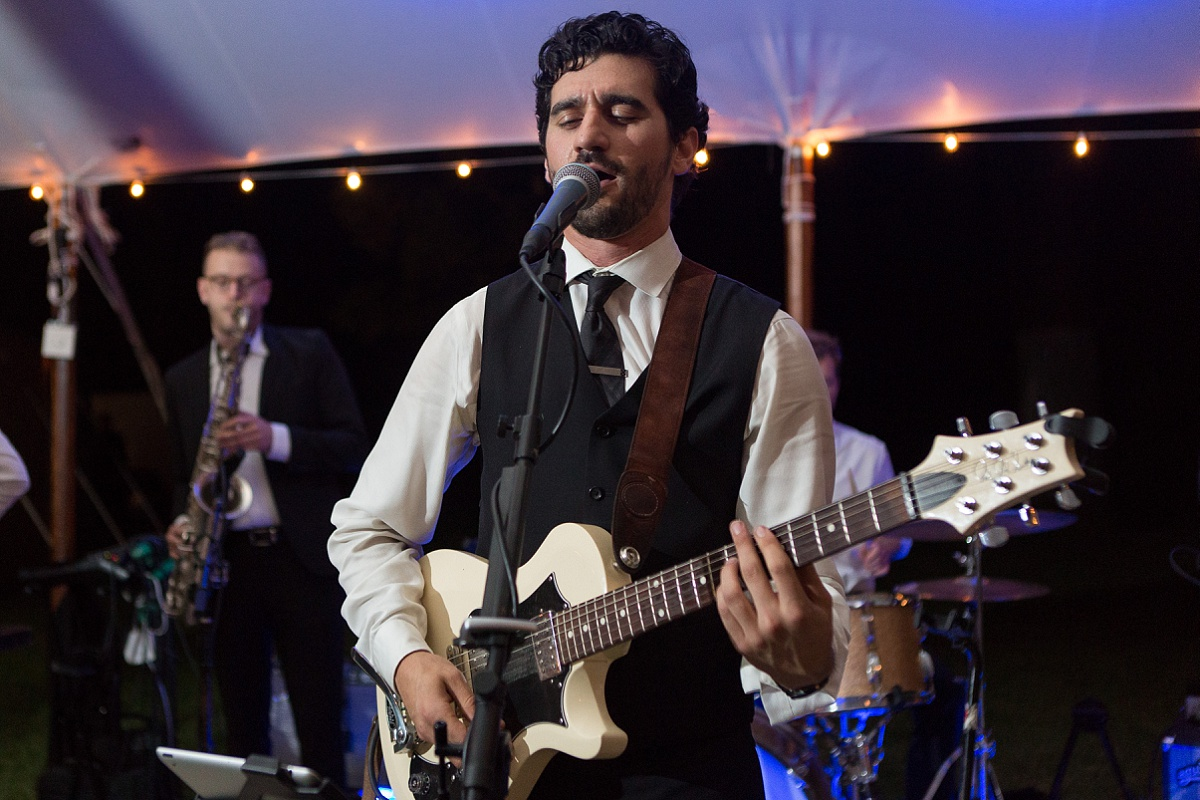 Vintage rock wedding band performing in maryland
